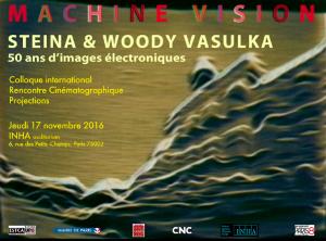 Machine Vision. Steina et Woody Vasulka, 50 ans d'images électroniques @ INHA | Paris | Île-de-France | France