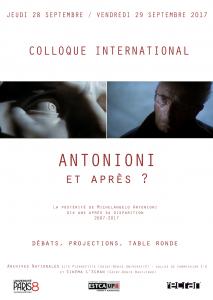 Colloque Antonioni et après ? @ Archives Nationales | Pierrefitte-sur-Seine | Île-de-France | France
