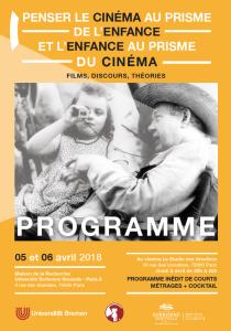 Penser le cinéma au prisme de l'enfance @ Maison de la Recherche Université Sorbonne Nouvelle - Paris 3 | Paris | Île-de-France | France