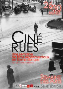 Ciné Rues, une semaine de films expérimentaux en forme de rues @ Université Paris 8  | Saint-Denis | Île-de-France | France