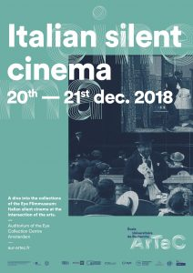 Italian silent cinema - Eye Filmmuseum @ Auditorium of the Eye Collection Centre
