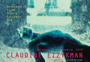 Colloque Claudine Eizykman – Faire penser le cinéma @ Institut national d'histoire de l'art