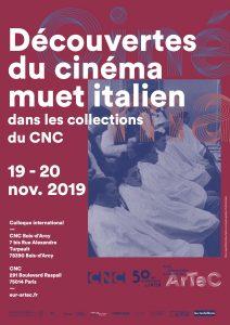 Découvertes du cinema muet italien dans les collections du CNC @ CNC Bois-d'Arcy / CNC